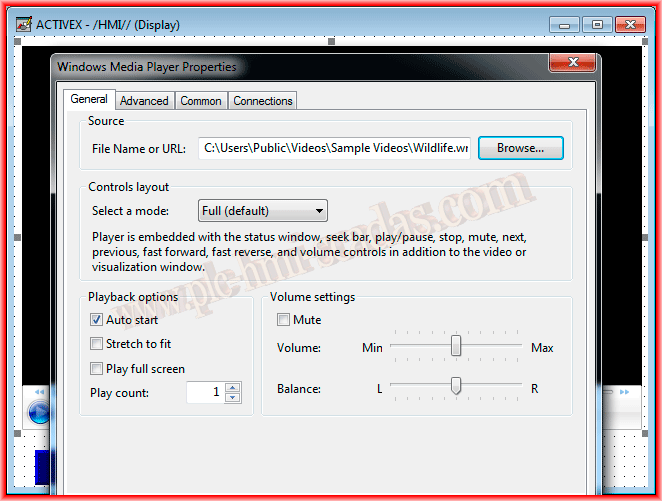 Windows Media Player Activex Plugin Required