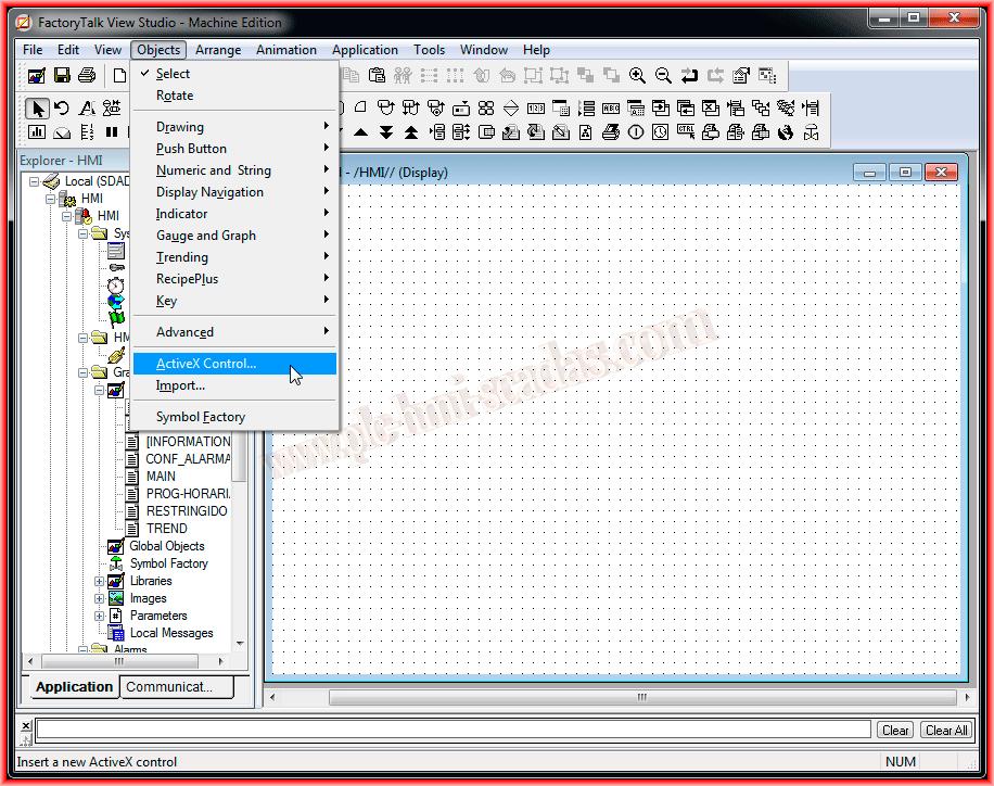 ActiveX Control Windows Media Player