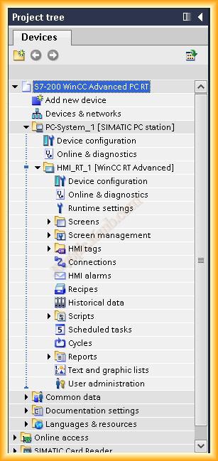 Enlace S7-2xx (PPI) con PC WinCC RT Advanced (TIA)